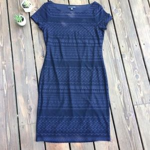 NWT Banana Republic Navy Medium Lace Dress